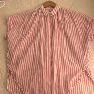 Madewell courier button down